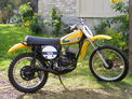 1974 Suzuki TM125L Webco Head Custom Pipe