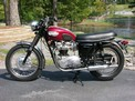 1968 Triumph Bonneville deep red Hoard before 907 001 (Large)