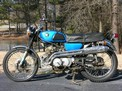 1965 Honda CB 175 blue Carpenter before 210 004 (Large)