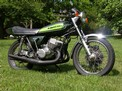 1973 Kawasaki H1 green cafe 609 003