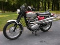 1970 BSA Firebird Scrambler 650 red chrome Crone 607 001
