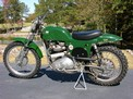 1969 Triumph Rickman 650 Green MXer before CWorld trip 1106 001